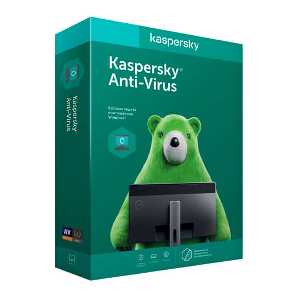 Антивирус Kaspersky Anti-Virus 2018 Box. 2-Desktop 1 year Renewal