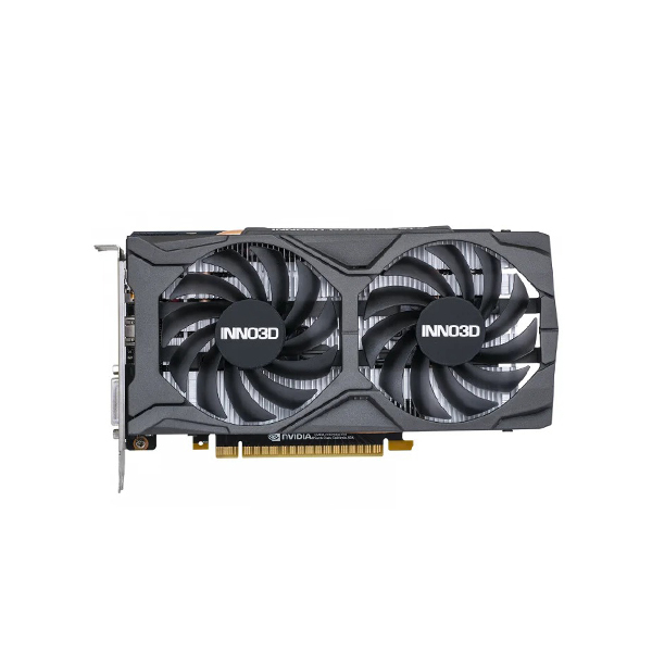 Видеокарта Inno3D GeForce GTX 1650 TWIN X2 OC V2 4 ГБ, N16502-04D6X-1720VA30