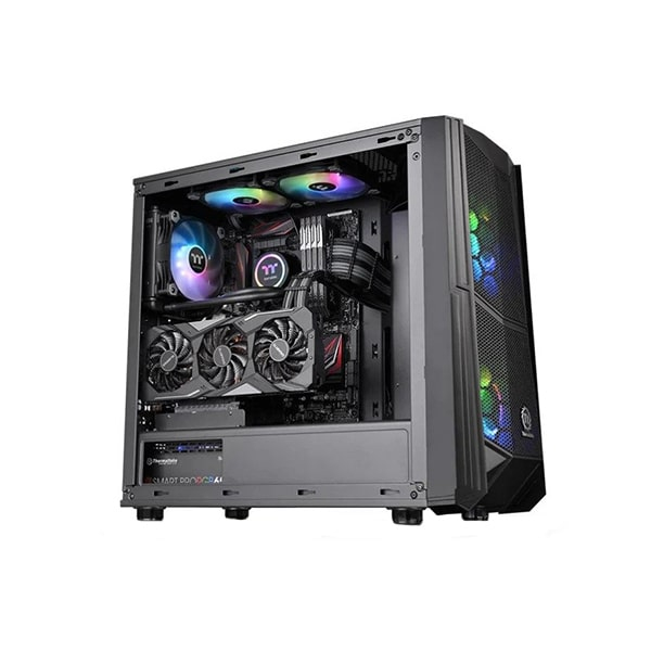 Корпус Thermaltake Commander C35 TG ARGB, Черный