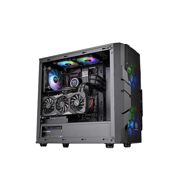 Корпус Thermaltake Commander C33 TG ARGB, Черный